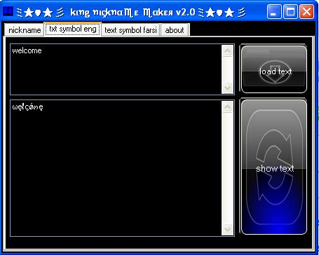 Netbuzz Nickname maker v2 coded By $huvalie@n.c Nik4