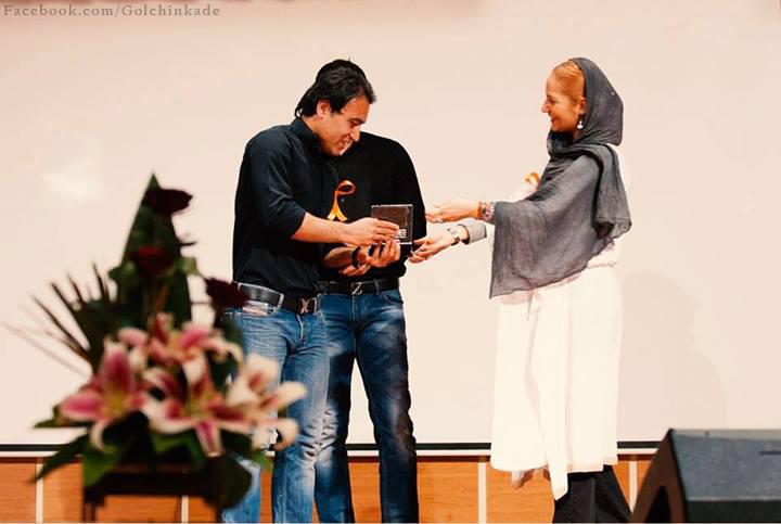 عکس زیبا از بازیگر زیبای ایران در کنار مرد فوتبال ایران مهدوی کیا