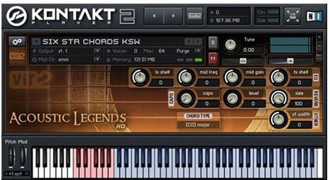 دانلود برترین وی اس تی گیتار Vir2 Acoustic Legends HD