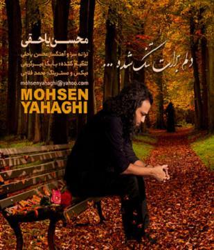دانلود آهنگ جدید ,محسن یاحقی به نام دلم برات تنگ شده