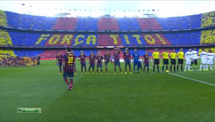 دانلود فوتبال   بارسلونا - رئال مادرید (لالیگا - هفته ی دهم)   10.26.2013