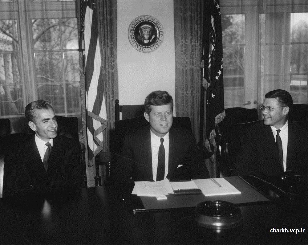 محمدرضاشاه و کندی