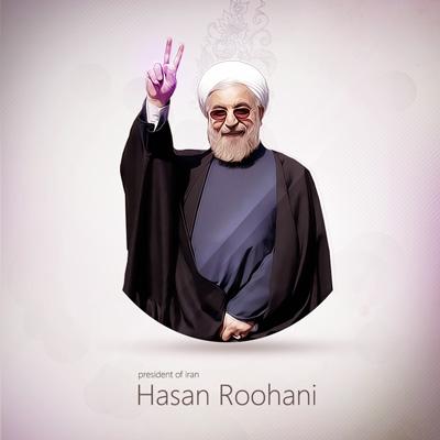 لایه باز پوستر سید حسن روحانی
