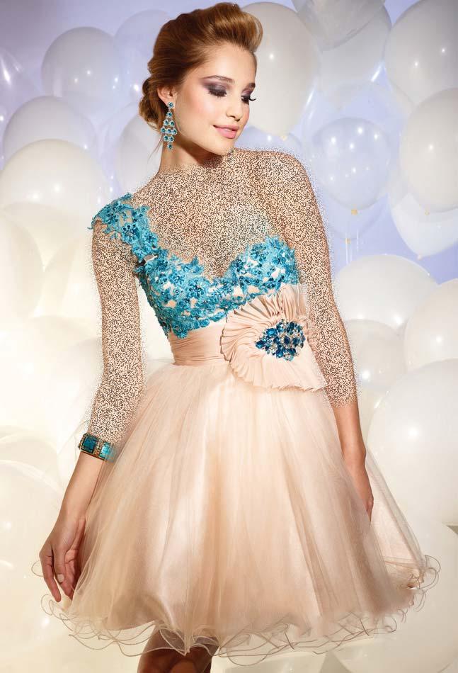 لباس شب کوتاه