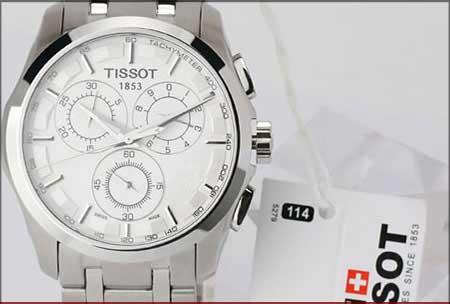 خرید اینترنتی ساعت tissot