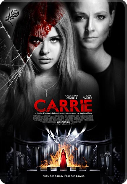 carrie 2013 theatrical poster by themadbutcher d4yjd63 دانلود فیلم Carrie 2013
