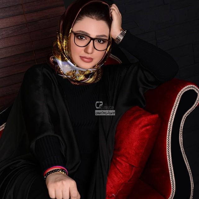 عکس های جدید نازلی رجب پور بازیگر سریال ستایش2