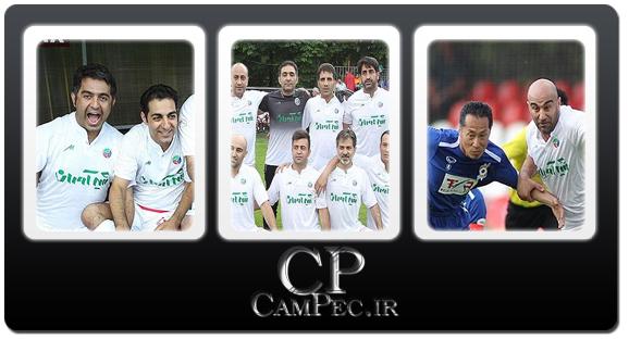 عکس های پیروزی پر گل تیم فوتبال هنرمندان مقابل تیم ژاپن