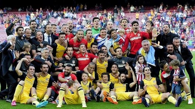 اتلتیکو مادرید برای دهمین بار قهرمان لالیگا اسپانیا شد