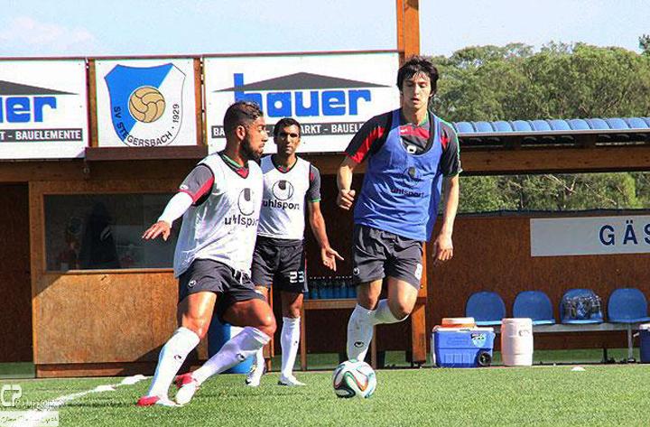 عکس های تمرین تیم ملی فوتبال پیش از دیدار با مونتگرو