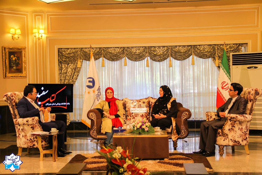 عکس های جدید لاله و ستاره اسکندری در پشت صحنه برنامه صبح خلیج فارس