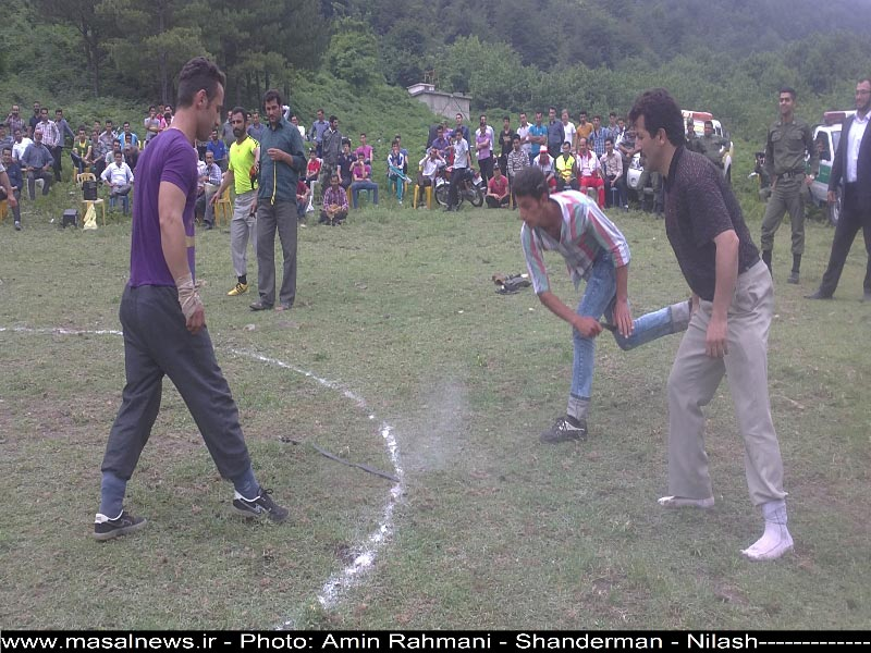 ماسال نیوز جشنواره بازی های بومی محلی شهرستان ماسال در روستای نیللاش شاندرمن