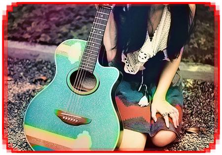 گیتار دخترانه
