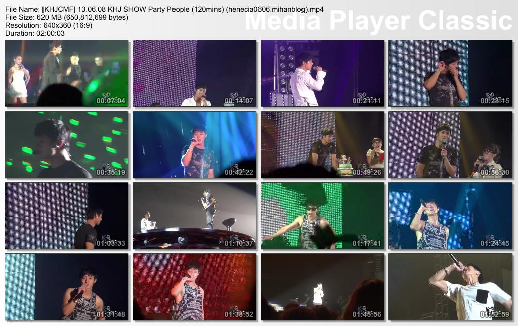 [KHJCMF] 13.06.08 KHJ SHOW Party People [120mins]
