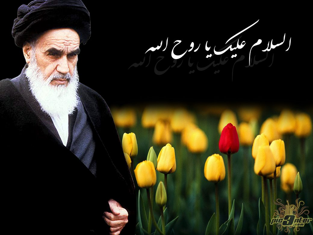 عکس رحلت امام خمینی برای پروفایل