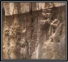 نقش برجسته ی مهرداد دوم