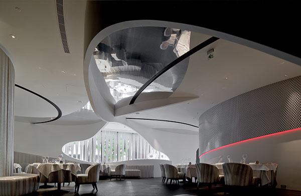 طراحی دکوراسیون رستوران اسپانیایی