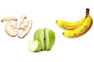 چگونه از سیاه شدن موز ، سیب و قارچ جلوگیری کنیم؟ , علمی ودانستنی ها