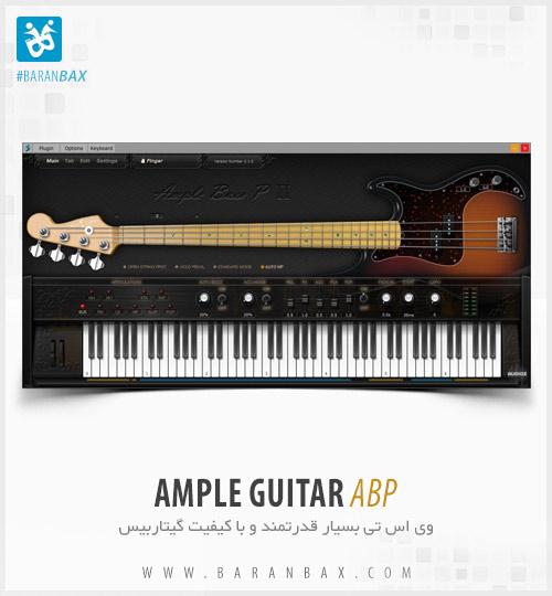 دانلود وی اس تی گیتاربیس Ample Guitar ABP