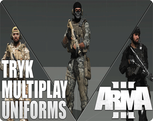 کاملترین پک (Uniform (TRYK's برای بازی Arma 3