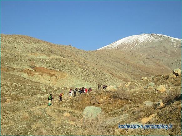 مسیر قله ورجین از سمت لواسان