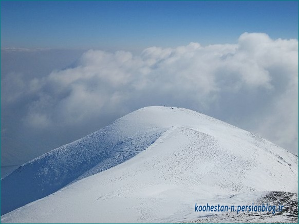 مسیر قله ورجین