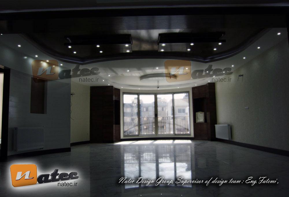 طراحی و اجرای دکوراسیون حمام ، باریسول در سقف