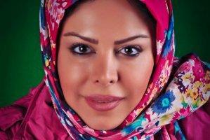 چهره فلور نظری با رنگ موی قرمز+ عکس , عکس بازیگران
