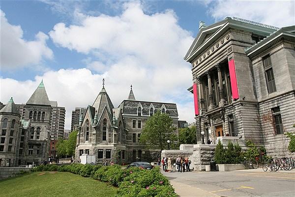 دانشگاه مک گیل در یکی از بهترین و گران قیمت ترین مناطق  شهر مونترال واقع شده است