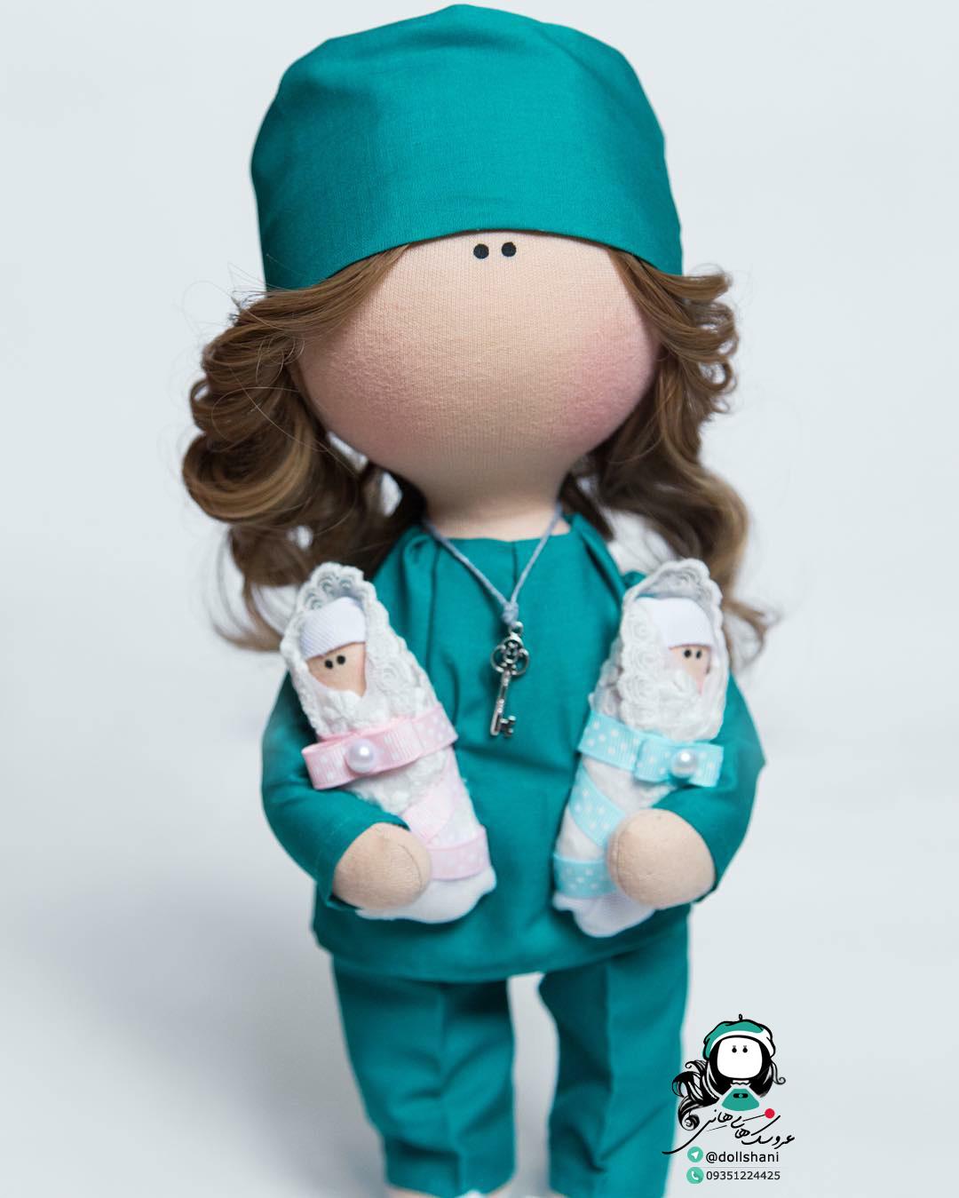 ع عروسک های روسی آموزش عروسک سازی | عروسک روسی تیلدا