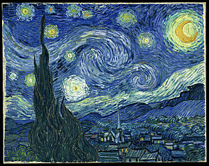 اثر کدام هنرمند تابلوی شب پرستاره است؟