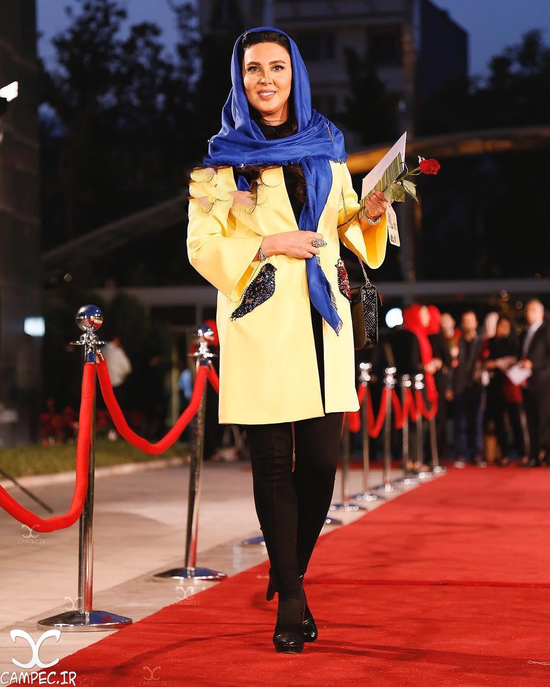 لیلا بلوکات در جشن حافظ