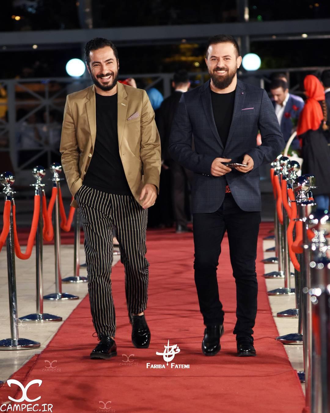هومن سیدی و نوید محمدزاده در جشن حافظ