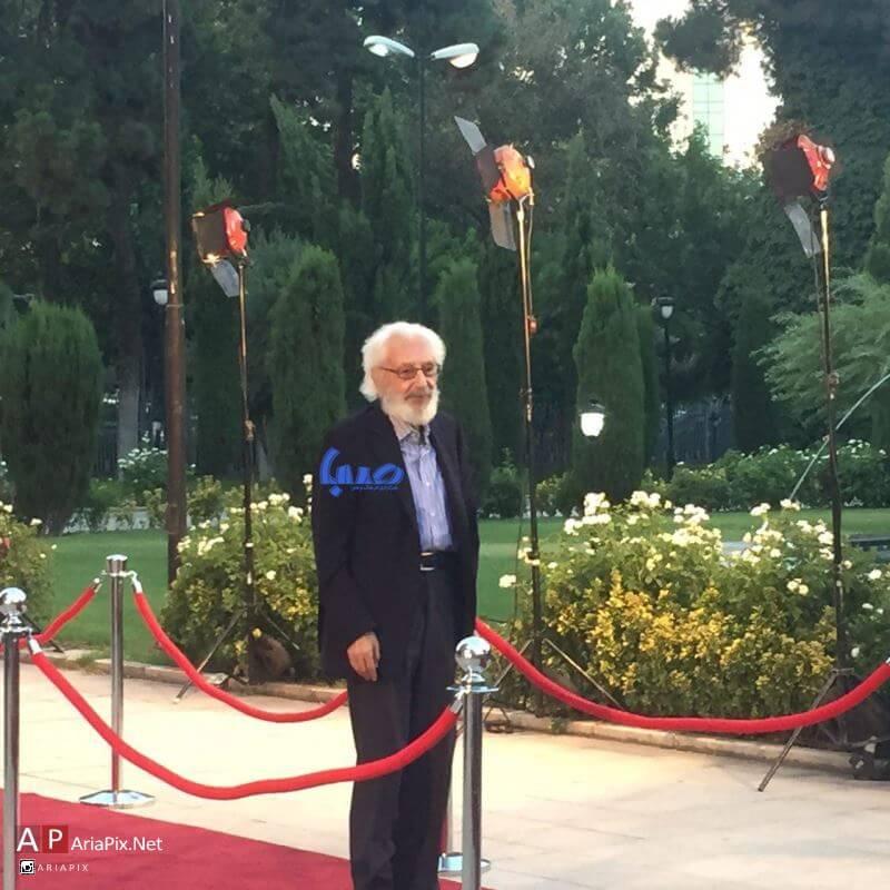 جمشید مشایخی در شانزدهمین جشن حافظ 95