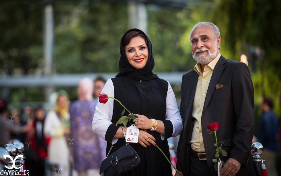 سعید و کمند امیر سلیمانی در شانزدهمين جشن حافظ