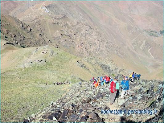 مسیر قله کلون بستک