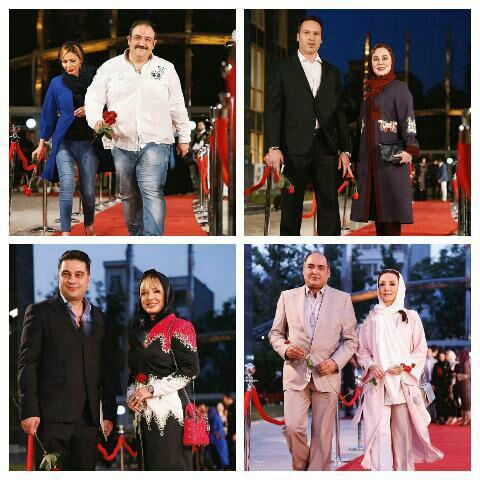 برندگان و عکسهای فرش قرمز جشن حافظ سال