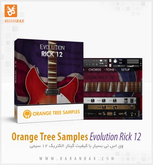 دانلود وی اس تی گیتار الکتریک Orange Tree Samples Evolution Rick 12