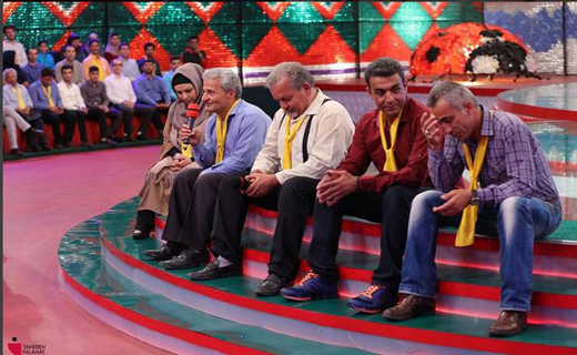 جمعیت طلوع بینشانها | اکبر رجبی در خندوانه | فیلم و عکس