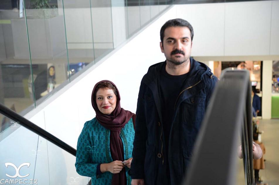 شبنم مقدمی و همسرش علیرضا آرا