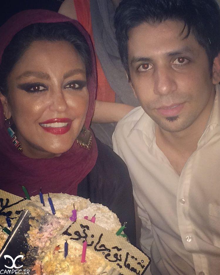 عکس شقایق فراهانی در روز تولدش