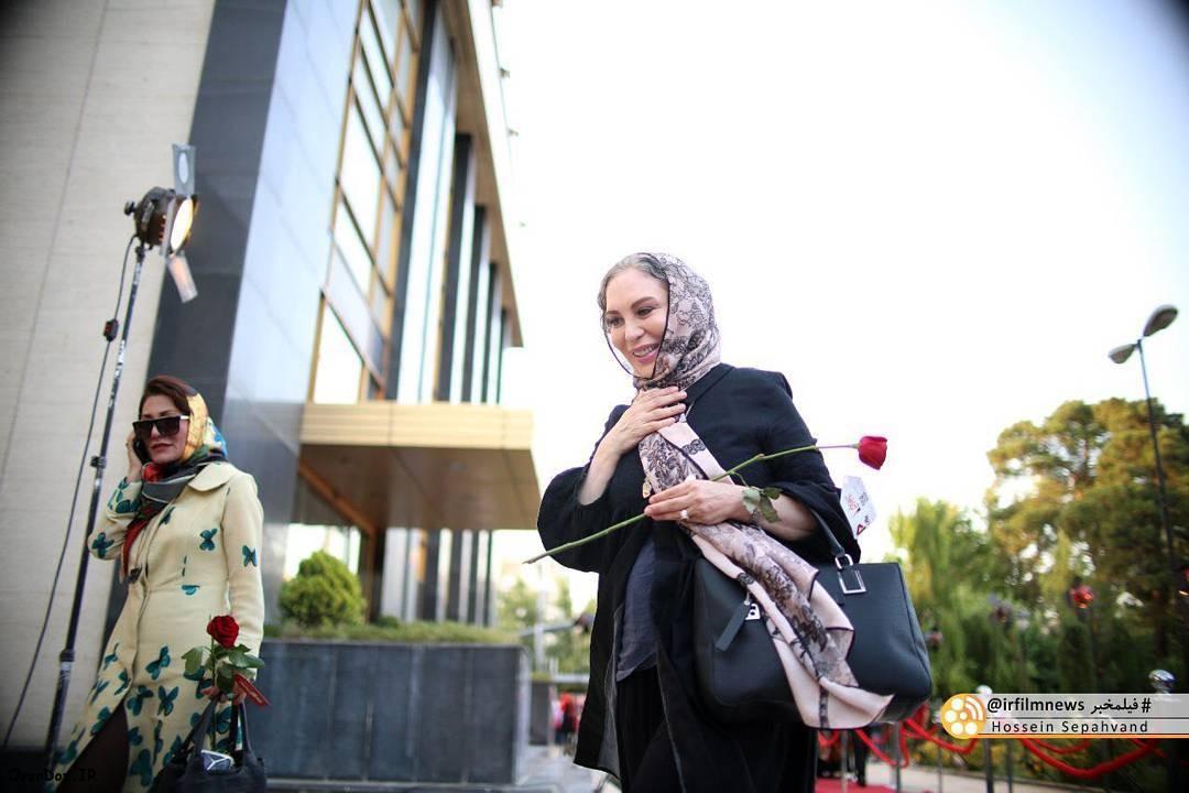 عکسهای افسانه بایگان در شانزدهمین جشن حافظ 95