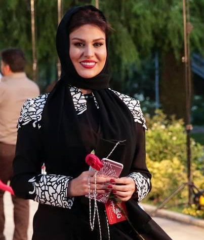 عکسهای رز رضوی در شانزدهمین جشن حافظ