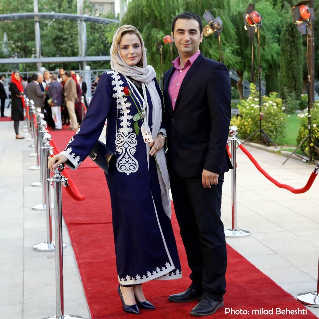 عکس سپیده خداوردی در شانزدهمین جشن حافظ