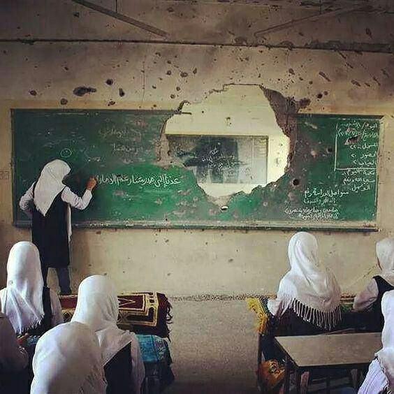 مدرسه ای در سوریه