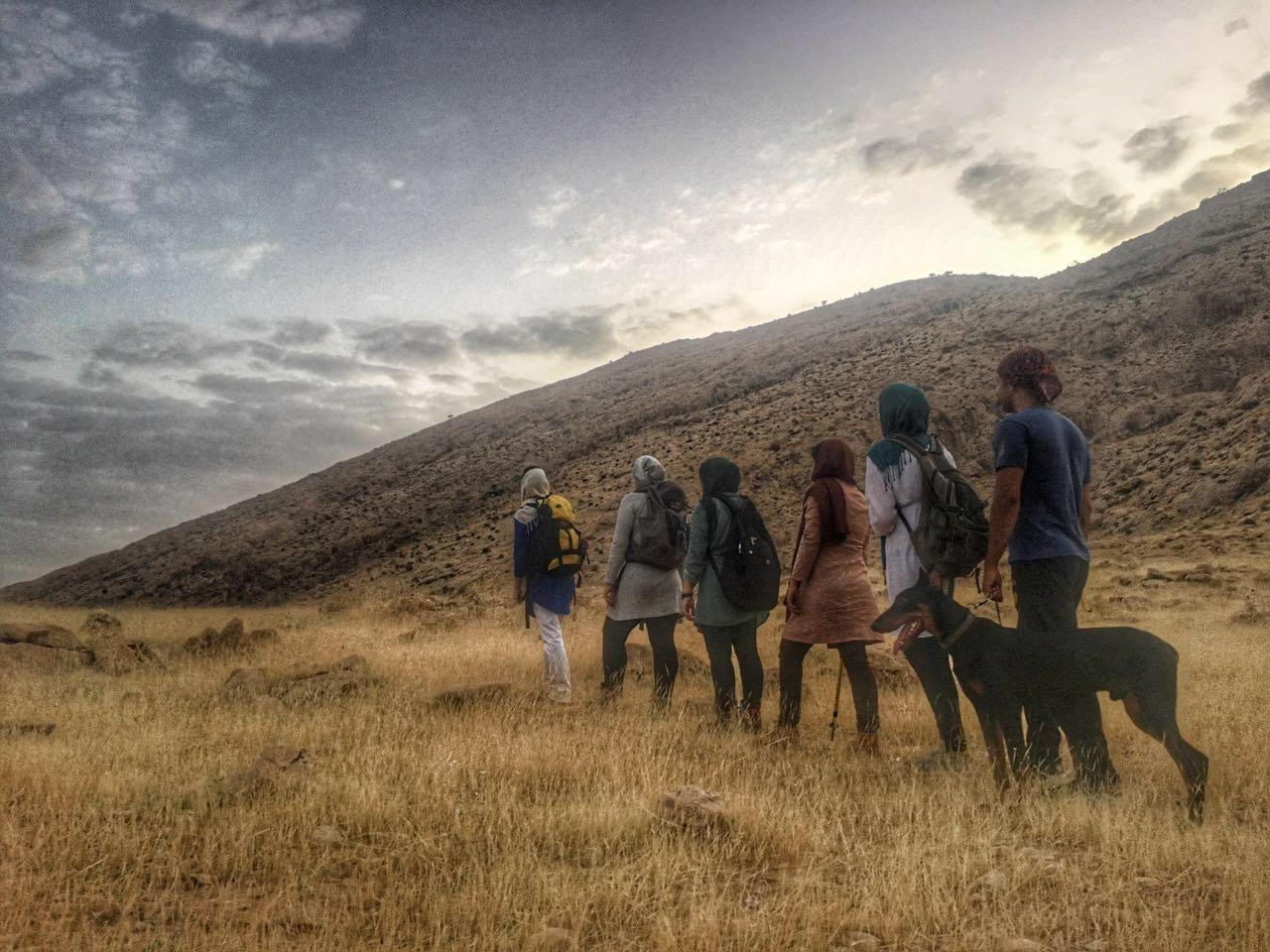 صعود فنی به کوه طالقانی