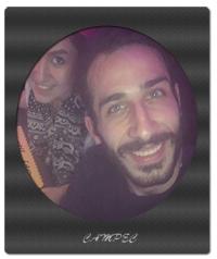 بیوگرافی و عکس مهران ضیغمی با همسرش