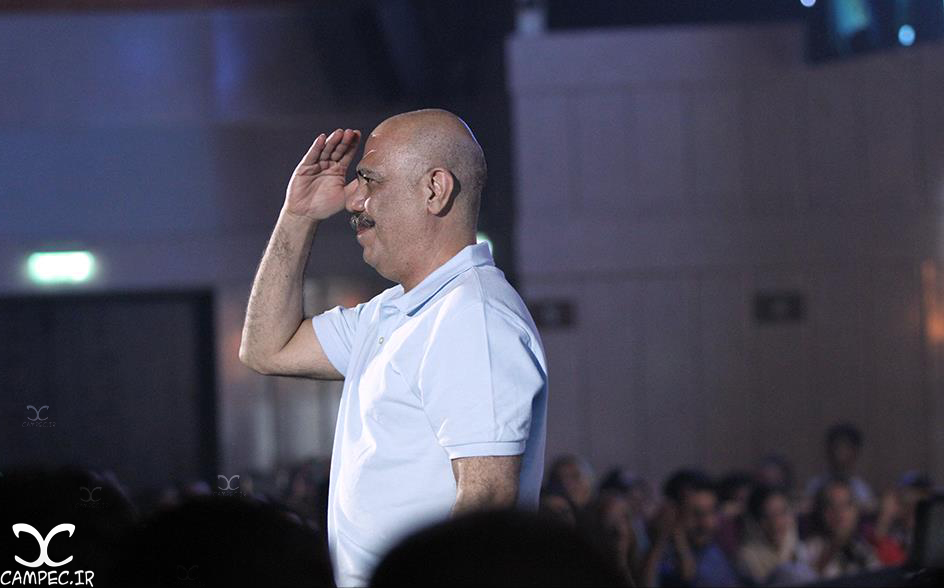 کاظم بلوچی در کنسرت محمد علیزاده