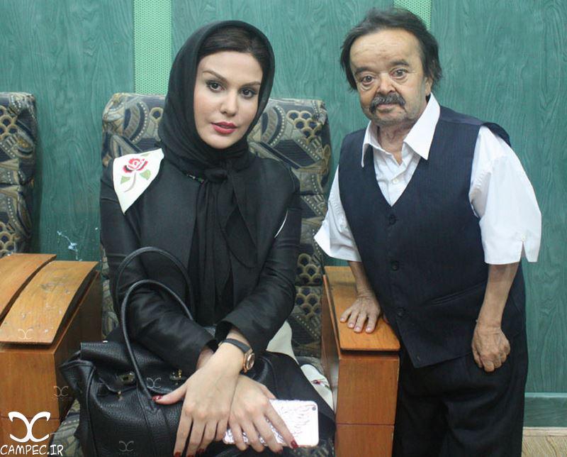 اسدالله یکتا و رز رضوی در کنسرت محمد علیزاده