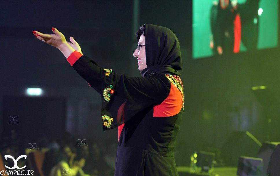 معصومه کریمی در کنسرت محمد علیزاده